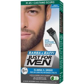 Just For Men Barba & Baffi Gel Colorante M45 Castano Scuro