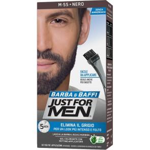 Just For Men Barba & Baffi Gel Colorante M55 Nero