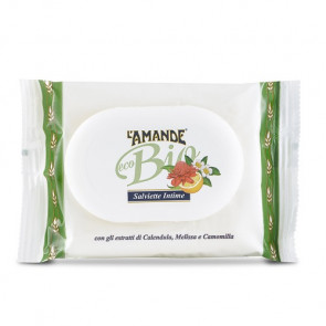 L'Amande Eco Bio Salviette Igiene Intima 20PZ
