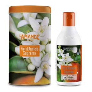 L'Amande Fior d'arancio Supremo Bagno Doccia Deluxe 250ML