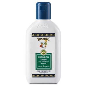 L'Amande Marseille Shampoo Crema Capelli Grassi Sebo Equilibrante 200ML