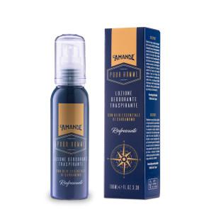 L'Amande Pour Homme Lozione Deodorante Traspirante 100ML