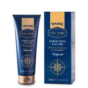 L'Amande Pour Homme Shampoo Doccia e Balsamo 250ML