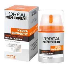L'Oreal Paris Men Expert Hydra Energetic Crema Idratante Anti Fatica 50ML