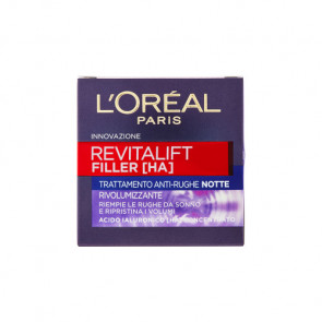 L'Oreal Paris Revitalift Filler Crema Viso Antirughe Rivolumizzante Notte 50ML