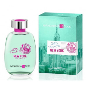 Mandarina Duck Let's Travel To New York For Woman 100ML