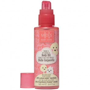 Mades Cosmetics Baby Care Massage & Dry Natural Body Oil 100ML