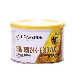 Naturaverde Pro Oro 24K Cera Depilatoria Liposolubile 400ML