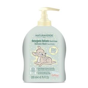 Naturaverde Bio Disney Baby Detergente Delicato Viso & Corpo 200ML