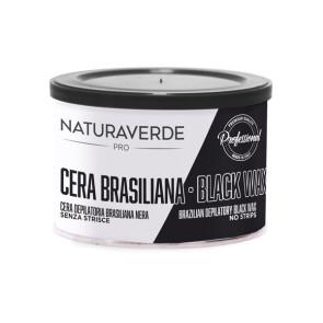 Naturaverde Pro Cera Depilatoria Brasilian Black Wax Senza Strisce 400ML