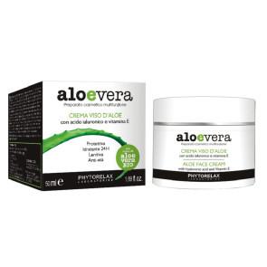 Phytorelax Aloevera Crema Viso d'Aloe 50ML