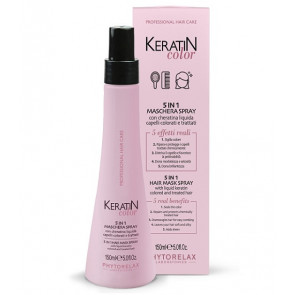 Phytorelax Keratin Color 5 in 1 Maschera Spray 150ML