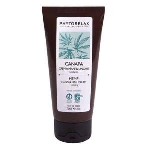 Phytorelax Olio di Canapa Sativa Biologico Crema Mani e Unghie Idratante 75ML