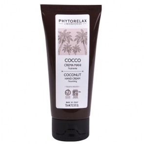 Phytorelax Olio di Cocco Vergine Biologico Crema Mani Nutriente 75ML