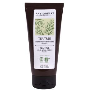 Phytorelax Tea Tree Oil Australiano Crema Mani e Unghie Protettiva 75ML