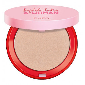 Pupa Fight Like a Woman Highlighter - Don't give up golden rose