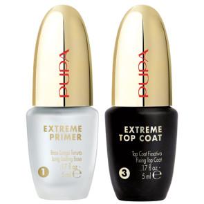 Pupa Kit Extreme Primer + Extreme Top Coat