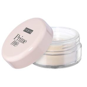 Pupa Prime Me Setting Powder Cipria Trasparente Fissante Mattificante  - 001 Transulecent