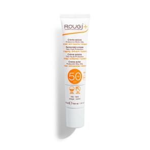 Rougj Crema Solare Viso Anti-Età e Anti-Macchia Viso SPF50+ 40ML
