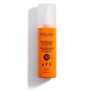 Rougj Protezione Solare Pelli Sensibili Viso/Corpo SPF30 200ML