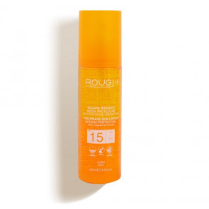 Rougj Solare Bifasico con Attivatore dell'Abbronzatura Corpo SPF15 200ML