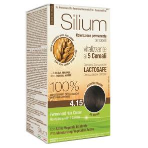 Silium Colorazione Permanente ai 5 Cereali 4.15 Marrone Freddo