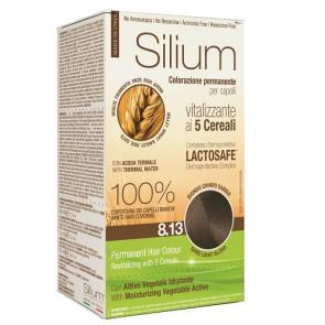 Silium Colorazione Permanente ai 5 Cereali 8.13 Biondo Chiaro Sabbia