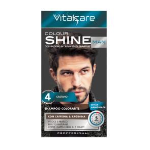 Vitalcare Colour Shine Man 4 Castano