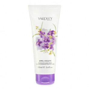 Yardley April Violets Crema Mani 100ML