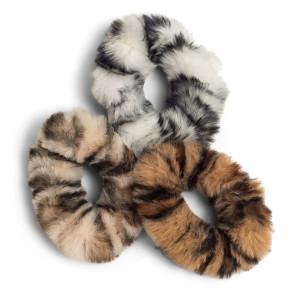 Zoe Ayla Faux Fur Scrunchies 3PZ