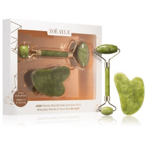 Zoe Ayla Gua Sha and Roller Set
