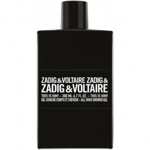 Zadig & Voltaire This Is Him! All Over Shower Gel 200ML