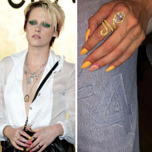Le unghie dei personaggi famosi che fanno tendenza