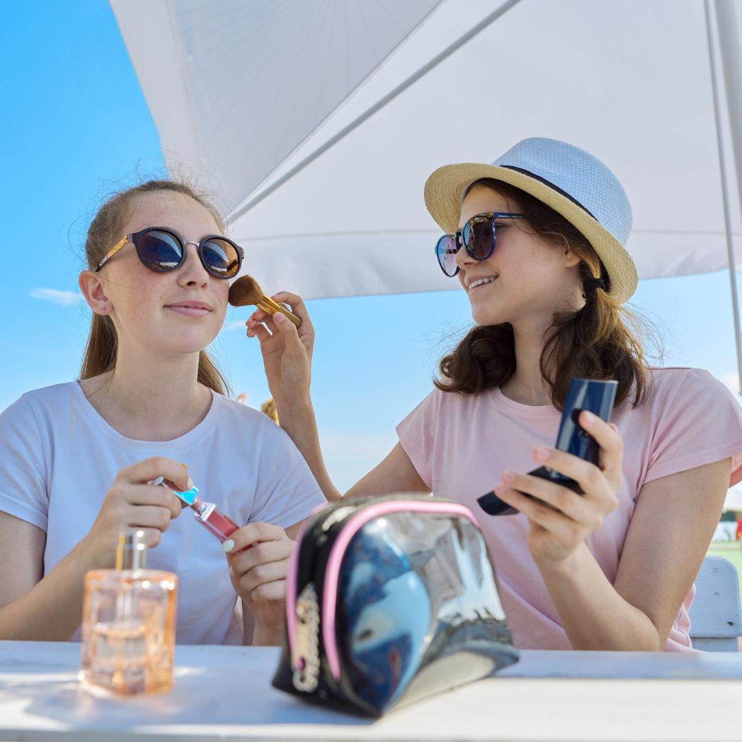 Make-up solare al mare e in città