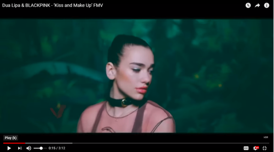 dua lipa make up