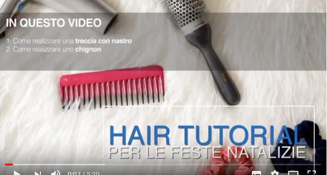 hair tutorial natale 2018
